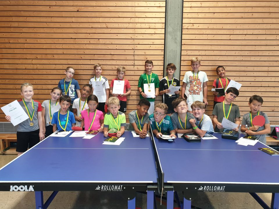 Table Tennis Summer Camp 2019